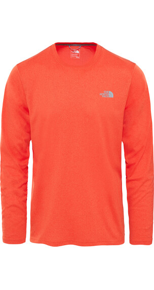 The North Face Reaxion Amp Crew hardloopshirt oranje